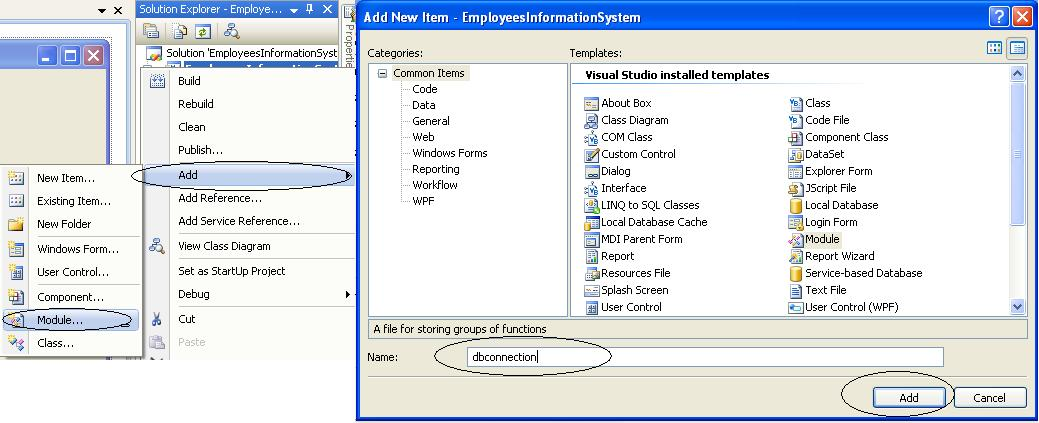 03-Setting Up the Database Connection Between MySQL and Visual Basic