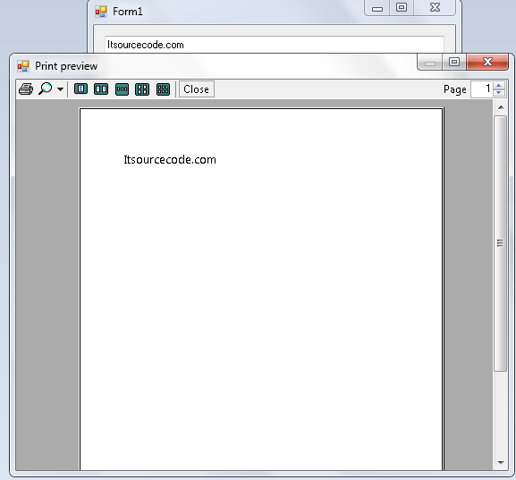 How to Print the Text in a TextBox Using Visual Basic 2008