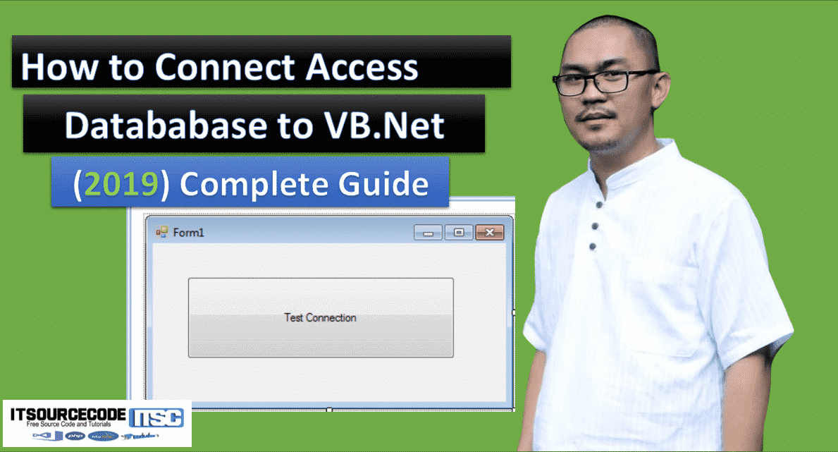 How to connect access database to vb.net