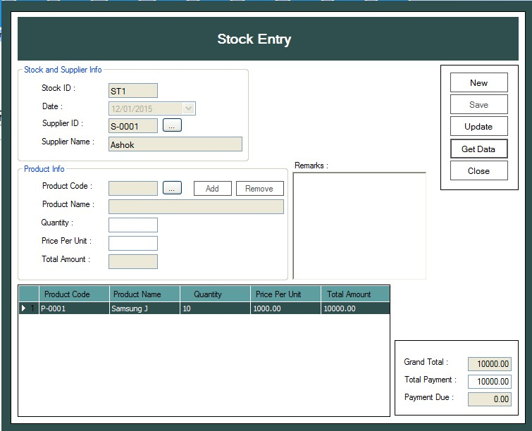 Automated Sales And Inventory System Project