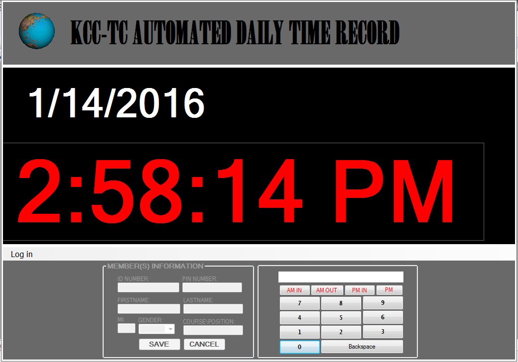 Automated Daily Time Record Monitoring System