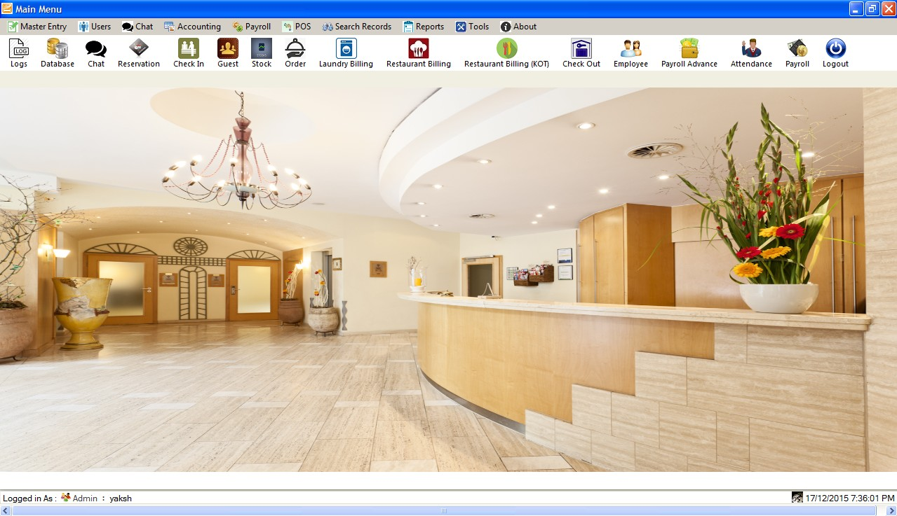 Complete hotel management system for Design hotel booking system