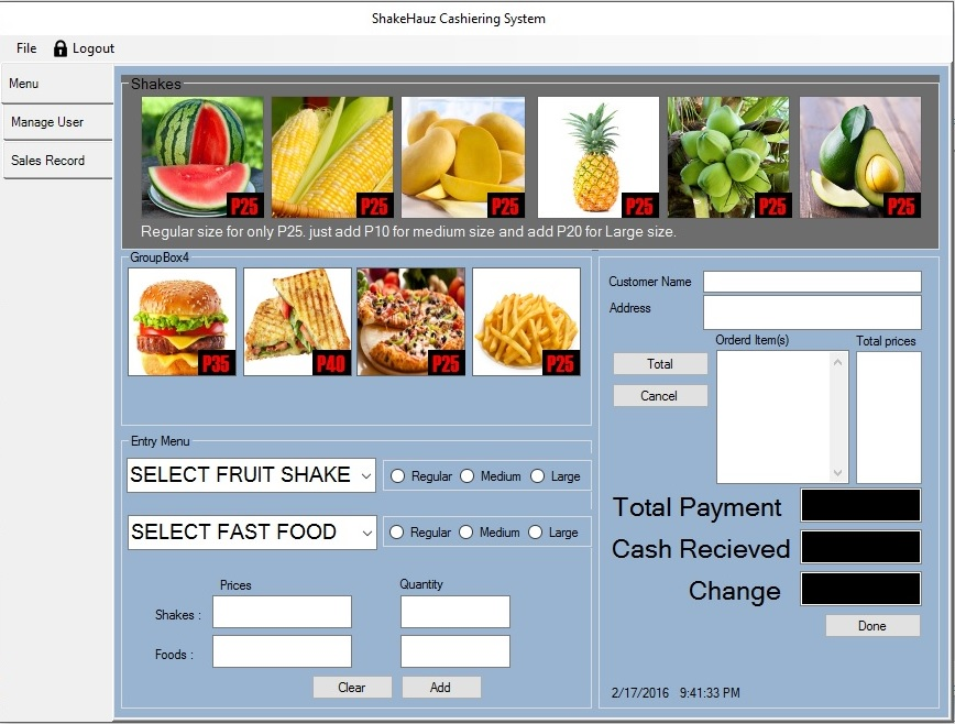 thesis for cashiering system You can even control inventory right at the cash register with point-of-sale (pos) software  about the sale than you could gather with a manual system.
