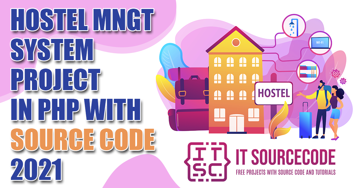 Hostel Management System Project in PHP