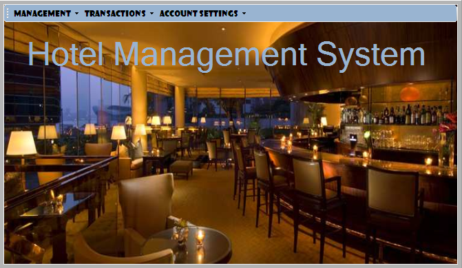 Hotel Management System Project Using Visual Basic