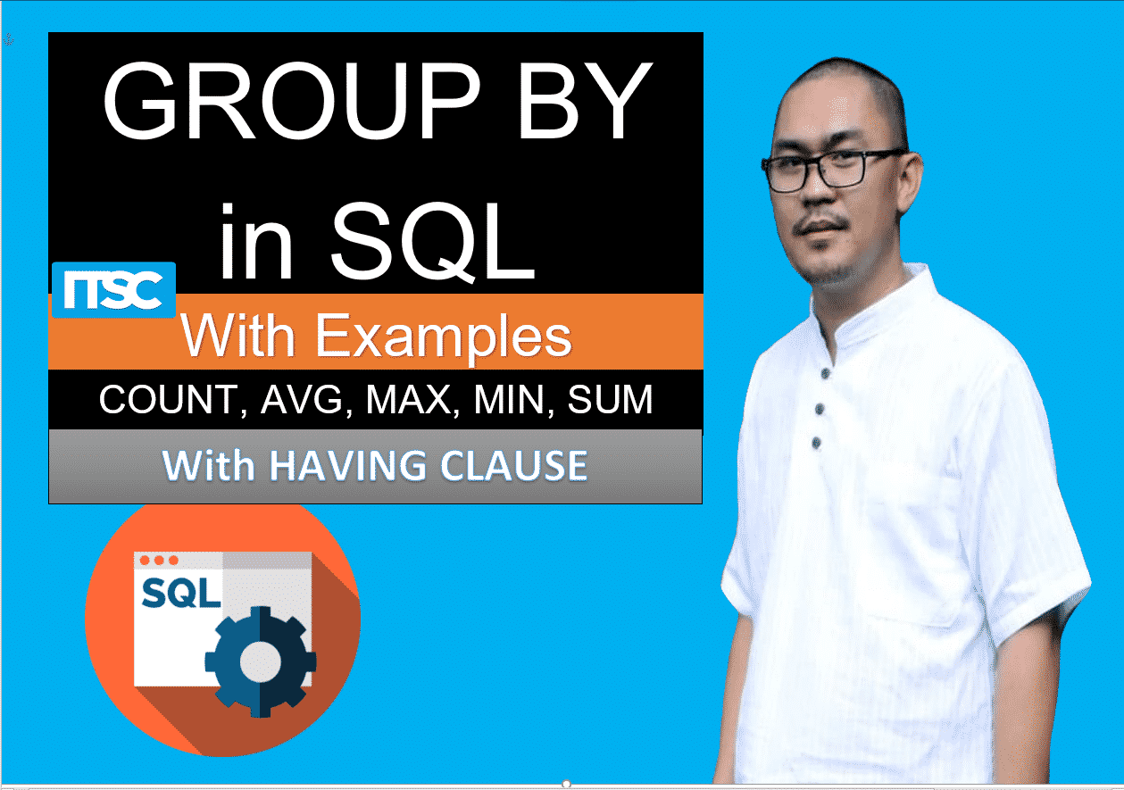 Group by in SQL with example