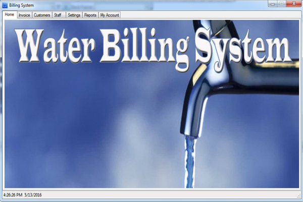 water billing system thesis