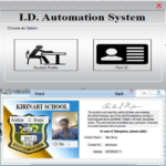 ID Automation System using VB.Net
