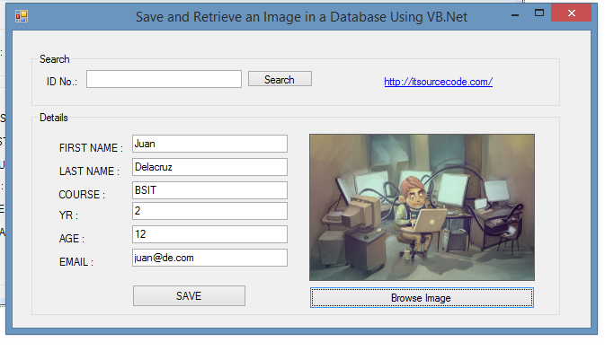 How To Insert Image In Access Database Using VB.Net 2019