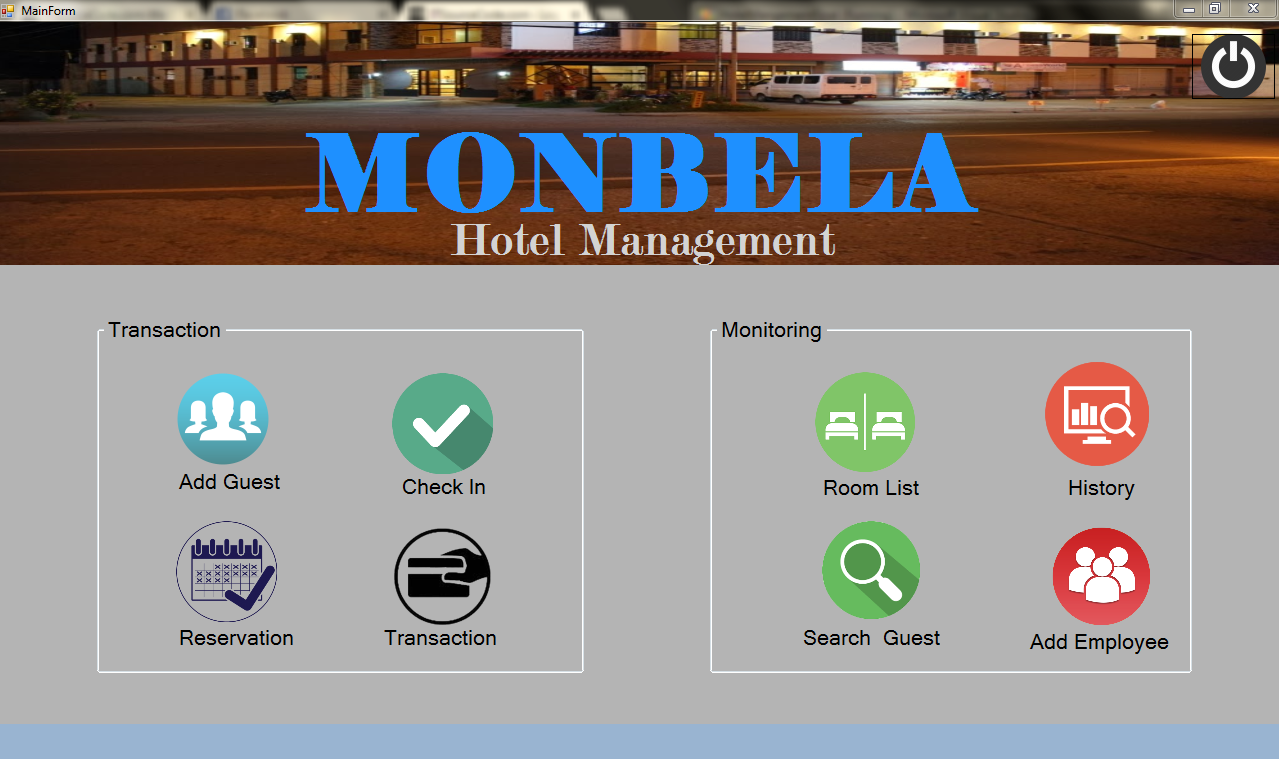 Hotel Management System Using VB.Net