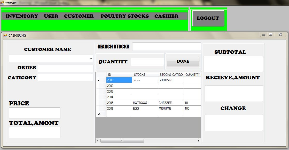 Poultry Management System