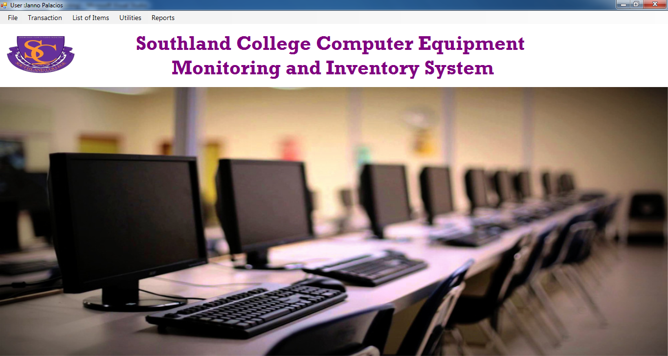 Computer Lab Inventory Management System Using Visual Basic.net and MySQL Database