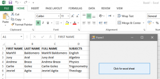 Create an Excel File Using Visual Basic.Net