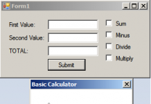 Basic Calculator using Visual Basic.Net
