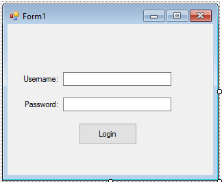 Simple Login Form Using VB.net and MS Access
