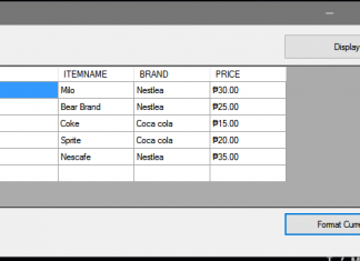 How to Format the DataGridview Column to Currency using VB.Net