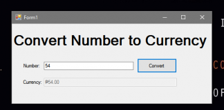 How to Convert Number to Currency in Textbox Using VB.Net