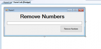 Removing Numbers in Textbox using VB.Net