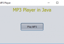 Play MP3 Music using Java