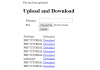 File Upload and Download Using PHP