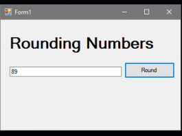 How to Round a Number in VB.Net