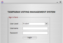 Automated Voting System using Java Netbeans IDE