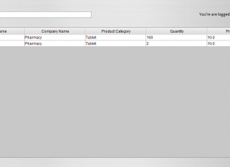 Search value in table using MySQL search query Java Tutorial