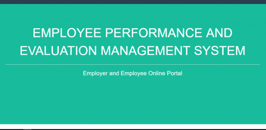 Employee Performance and Evaluation Management System using PHP