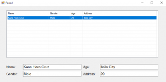 How to Retrieve Data from ListView to Display in Textbox using VB.Net