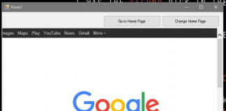 How to Change Web Browser Home Page in VB.Net