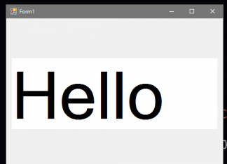 How to Make Text Auto Size in Textbox Using VB.Net