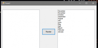 How to Reorder List in Listbox using VB.Net
