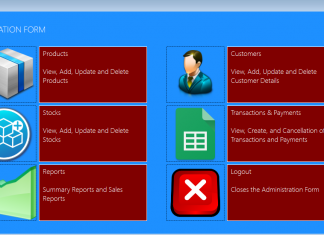 Sales Management System Source Code using VB.Net