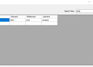 Search Data from Multiple Table Columns in mySQL using VB.Net