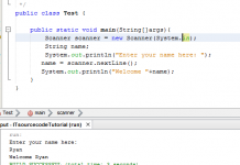 How to use Scanner in Java Tutorial Using Netbeans IDE