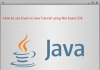 How to use Enum in Java Tutorial using Net beans IDE