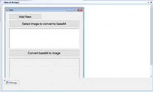Step 3: For Image Convert Base64 in VB.Net