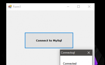 How to Connect MySQL Database to VB.Net