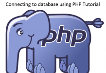 How to establish connection to database using PHP Tutorial
