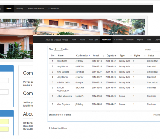 Online Hotel Reservation System Using PHP and MYSQLi