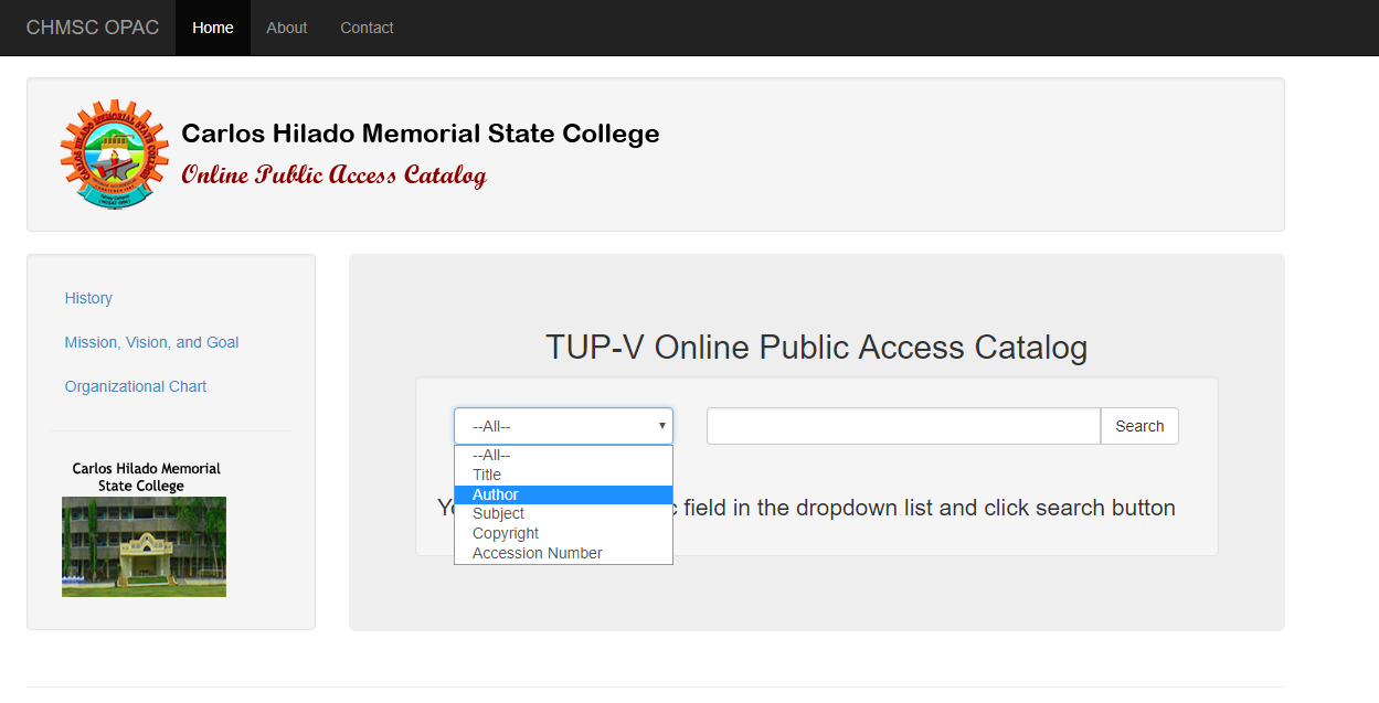 Free Online public access catalog source code