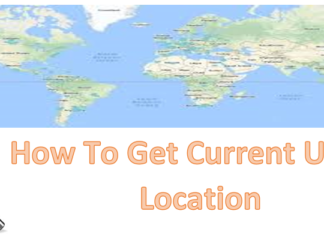 How To Get Current User's Location