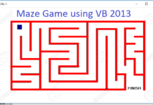 Maze Game in Visual Basic 2013