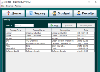 Automated Survey Application System