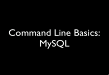 How to Use MySQL Using CMD