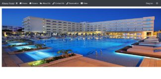 Online Hotel Management System source code