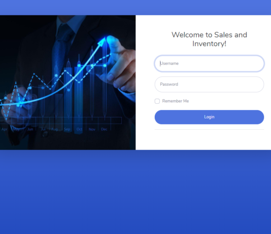 Sales and Inventory System Using PHP