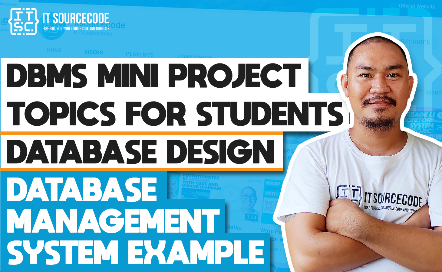 DBMS Mini Project Topics With Source Code For Students 2021