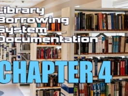 Library Borrowing System Documentation Chapter 4