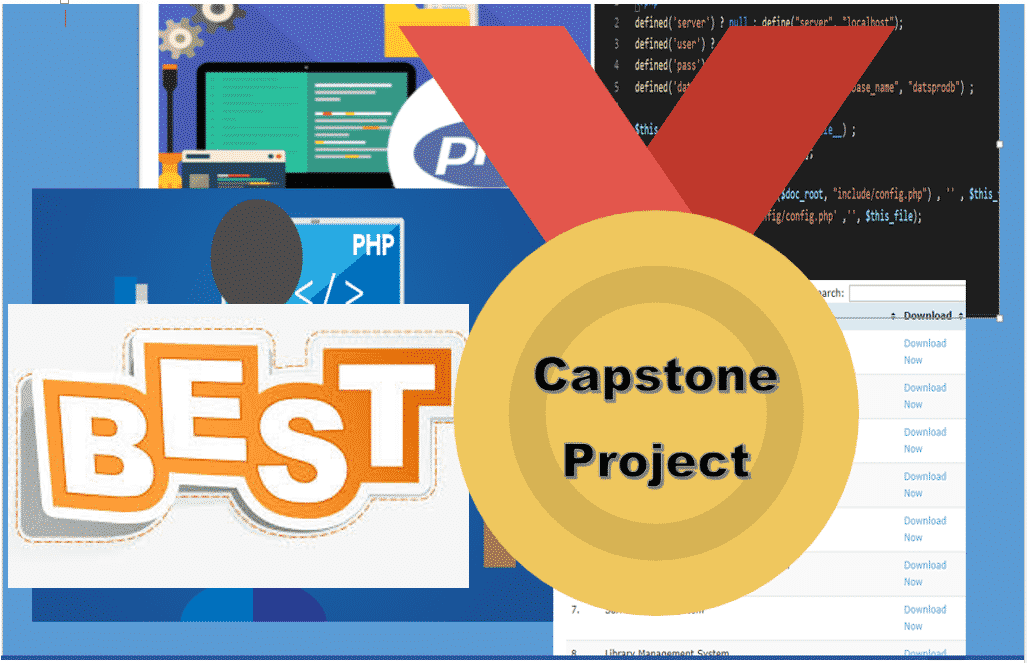 List of capstone project titles for information technology 2019